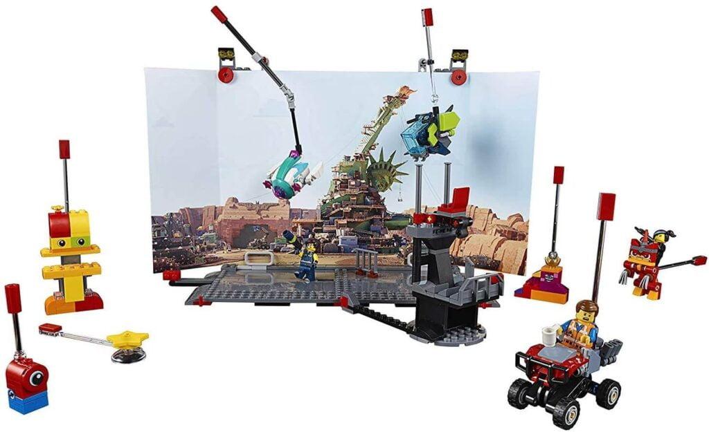 Lego Movie Maker aufgebaut