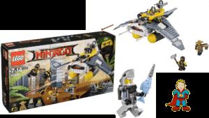 Lego Ninjago Mantarochen Flieger