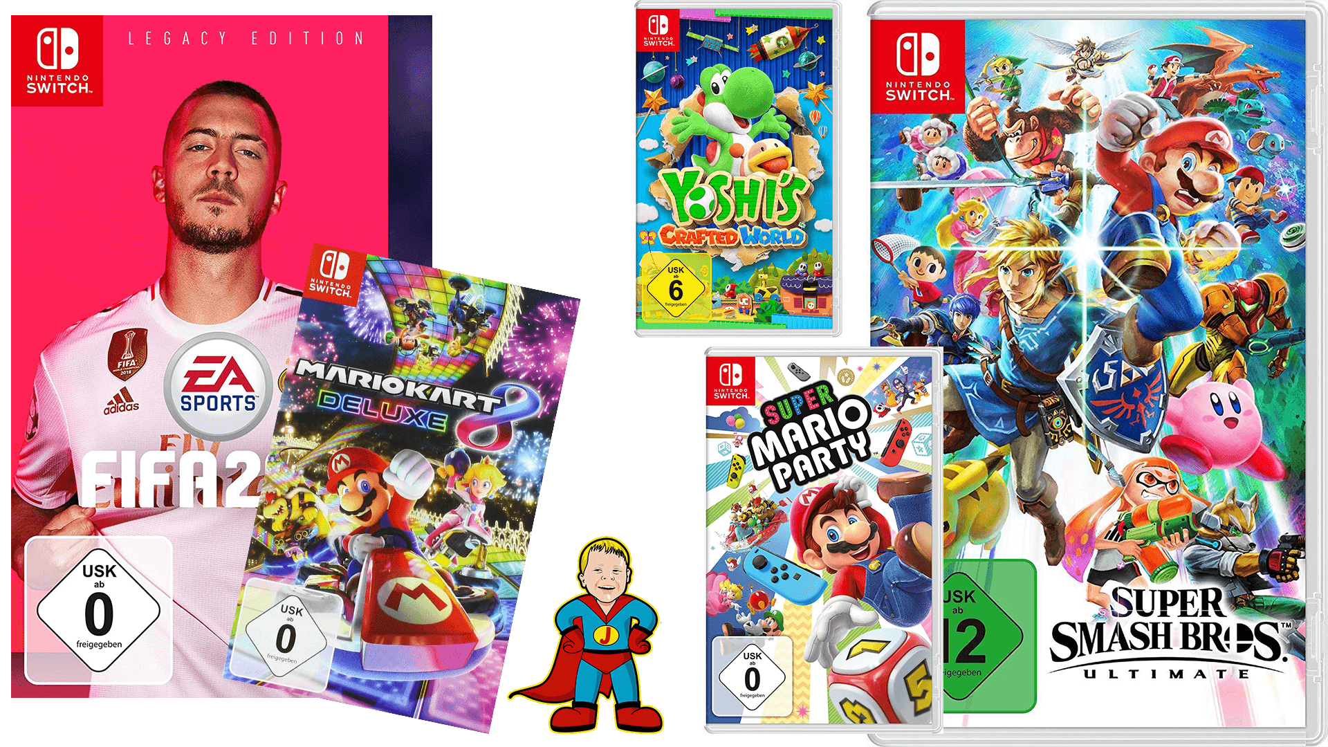 Top 7 Nintendo Switch Kinderspiele